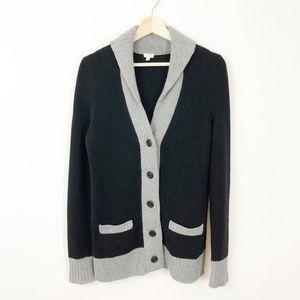 J. Crew Cashmere Professors Cardigan Sweater M